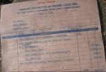 my original bill of sale 1974