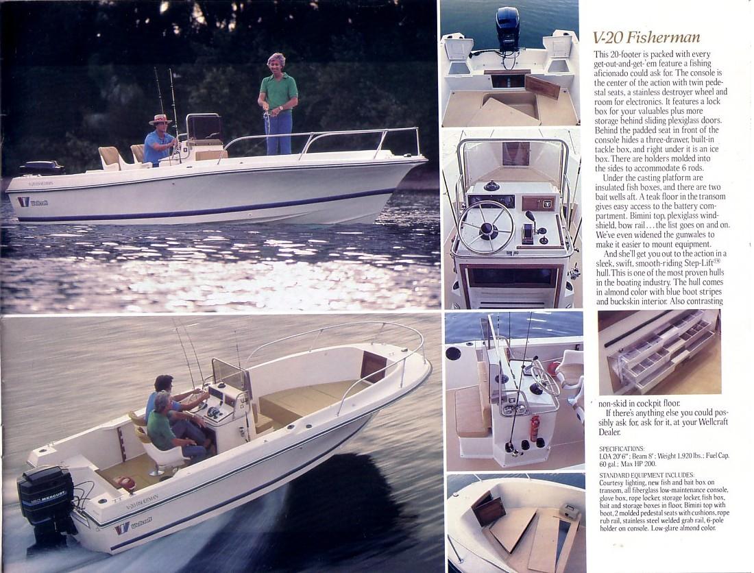 V-20 Step-Lift Fisherman